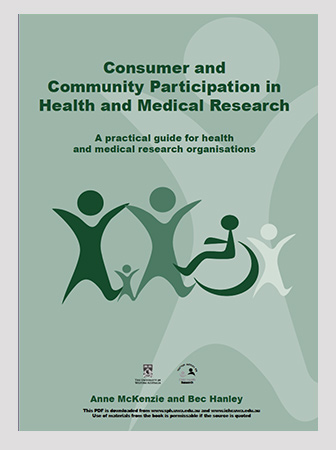 Consumer and Community Participation in Health and Medical Research
